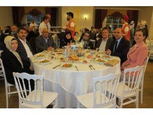 Biga'da şehit ve gazi yakınlarına iftar