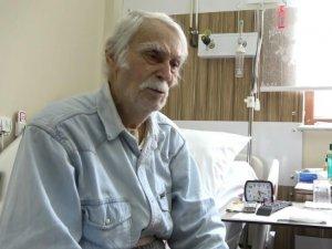 Eşref Kolçak yeniden hastaneye kaldırıldı