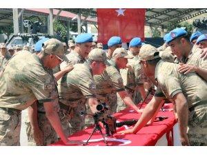 Kilis'te 12 engelli temsili askerlik yaptı