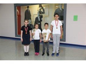 SANKO Okulları öğrencilerinin satranç başarısı