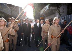 Milli Mücadelenin 100'üncü yılında Balıkesir'den Ankara'ya bayrak