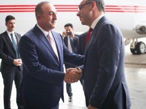 Bakan Çavuşoğlu Meksika'da
