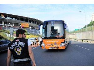 Medipol Başakşehir stada ulaştı