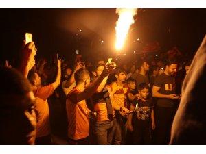 Galatasaray'ın şampiyonluğunu Siirtliler coşkuyla kutladı