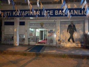 Ak Parti ilçe başkanlığına EYP'li ve havai fişekli saldırı