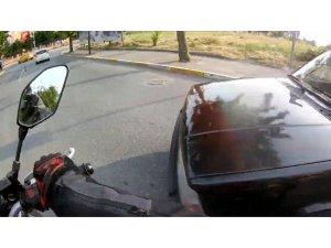 Trafikte ilginç görüntü