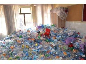 13 bin plastik atık doğaya kazandırılacak