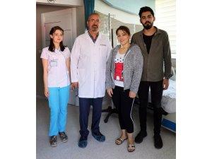 """""""Masada kalırsın"""" denilen İzmirli hasta Van'da sağlığına kavuştu"""