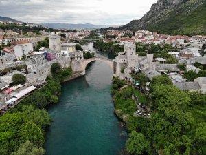 Balkanların eşsiz güzellikleri havadan böyle görüntülendi