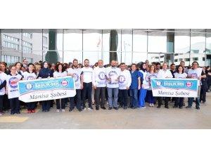Manisa Sağlık-Sen'den şehir hastanesinde 'aşırı iş yükü' eylemi