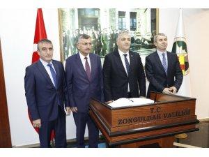 Enerji ve Tabii Kaynaklar Bakan Yardımcısı Mithat Cansız Zonguldak'ta