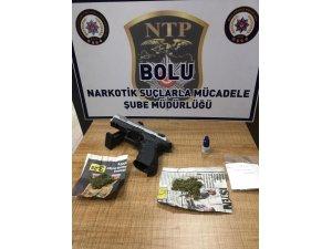 Bolu'da, 9 gram esrarla yakalanan şahıs tutuklandı