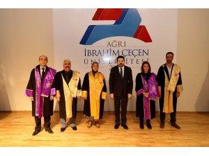 AİÇÜ'de Bilimsel Teşvik Ödülleri ve Akademik Giysi Töreni Yapıldı