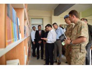 Şehit Jandarma Astsubay Çavuş Ömer Yiğit Ulus Kütüphanesi açıldı