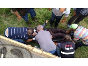 Bursa'da traktör kazası: 1 ölü