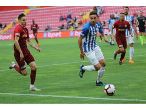 Spor Toto Süper Lig: İstikbal Mobilya Kayserispor: 0 - BB Erzurumspor: 2 (İlk yarı)