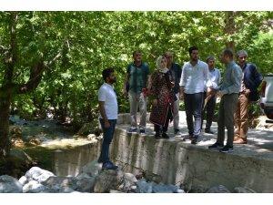 Sason'daki Sevek Deresi doğa turizmine kazandırılacak
