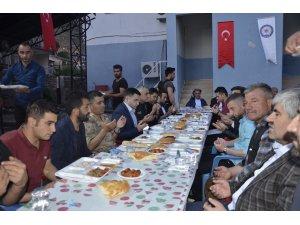 Beytüşşebap'ta birlik ve beraberlik yemeği