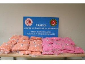 Kapıkule'de uyuşturucu tacirlerine ağır darbe: Tam 8 milyon TL