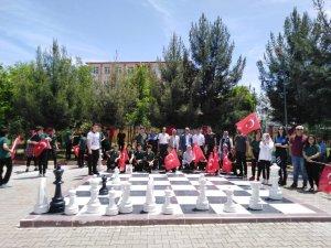 Şehit Polis Öztekin adına satranç turnuvası düzenlendi