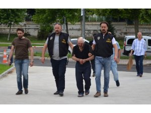 Gece yarısı dehşet saçan zanlı tutuklandı