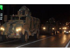 Gece yarısı Suriye sınırına asker takviyesi