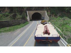 Baraj dubasının tehlikeli yolculuğu