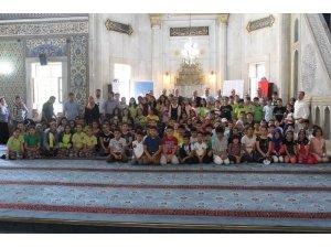 Elazığ'da okul ve cami buluşması