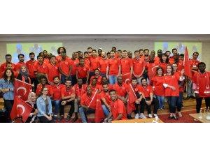 Uluslararası öğrenciler Milli Takım için kenetlendi