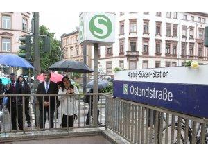 Türk kahraman Alptuğ'un adı vefat ettiği metro istasyonuna verildi