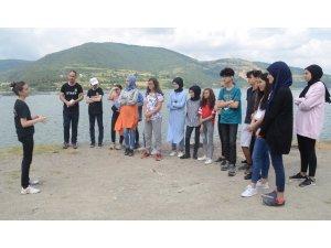 Liseli gençler Bafra'yı dünyaya Türkçe ve İngilizce tanıtacak