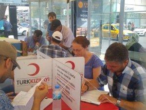 Söke CHP'den Kızılay'a 151. yılında kan bağışı desteği