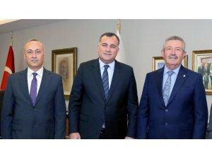 Taşdelen Anadolu OSB yönetimi ile bir araya geldi
