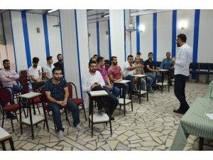 Silvan'da KOSGEB girişimcilik eğitimine yoğun ilgi