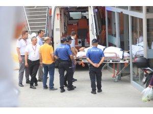Hastanede 1 işçinin ölümüyle sonuçlanan iş kazası