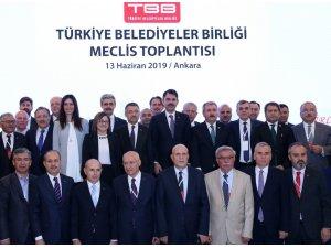 Zorluoğlu, Türkiye Belediyeler Birliği encümen üyeliğine seçildi