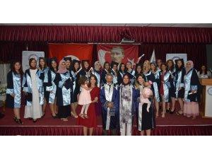 Buharkent MYO mezunlarını uğurladı