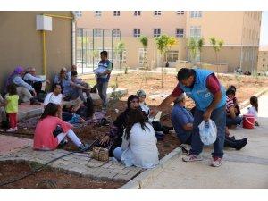 Haliliye Belediyesi sınava giren öğrencileri ve velileri unutmadı