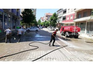 Güzelkent'te yaz temizliği