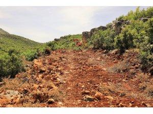 Çiftçinin üretimi arazi yolları açıldıkça artıyor