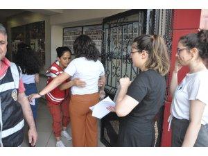 Zonguldak'ta Alan Yeterlilik Testi (AYT) başladı