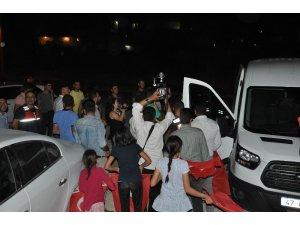 Mardin Jandarmaya İhbarlı kutlama