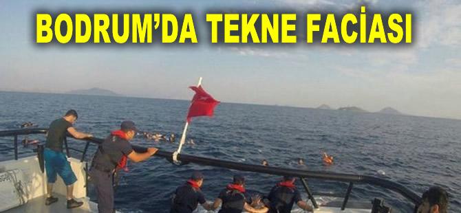 Bodrum'da kaçakları taşıyan tekne battı: 12 ölü