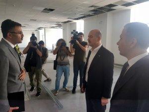 """İçişleri Bakanı Soylu: """"İstanbul'da 155'e yapılan çağrılarda intikal süresi 7,5 dakikaya kadar düşürüldü"""""""