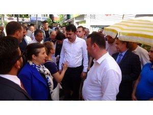 Bakan Kurum Silivri'de vatandaşlar, mahalle muhtarları ve STK temsilcileriyle buluştu