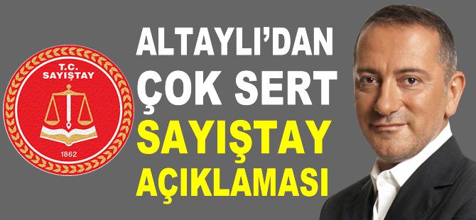Altaylı'dan AKP'ye Sayıştay yanıtı