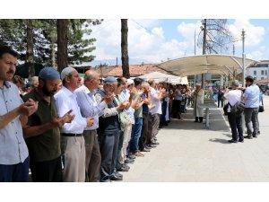 Erzincan'da yüzlerce Müslümanın katılımıyla Mursi için gıyabi cenaze namazı kılındı