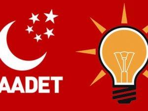 AKP'den Saadet Partisi'ne 'adayını çek' baskısı!