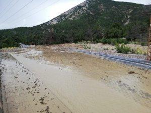 Nallıhan'da sel Hoşebe mesire alanı ve Kabaca köyünü vurdu