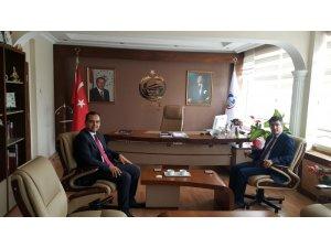 Rektör İbrahim Taş Pazaryeri ilçesini ziyaret etti